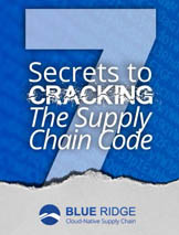 7 SECRETS TO CRACKING THE SUPPLY CHAIN CODE COVER