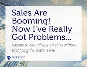 sales are booming cover