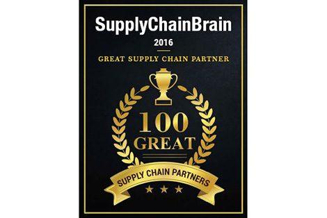 100 Great Supply Chain Partner award