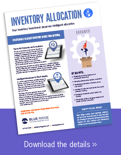 Inventory Allocation Software