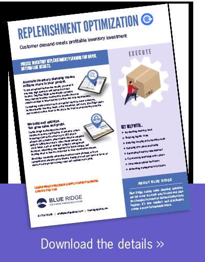 Replenishment Optimization Software