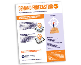 Demand Forecasting - Blue Ridge