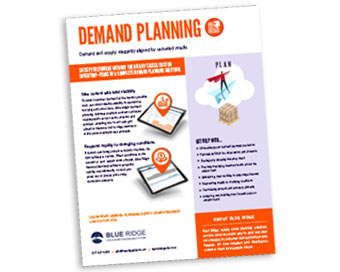 Demand Planning Solutions