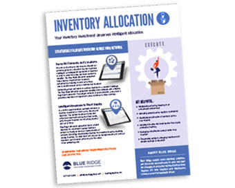 Inventory Allocation Solutions