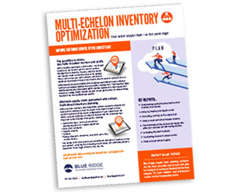 Multi-Echelon Inventory Optimization Solutions