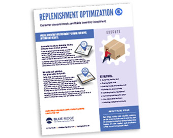 Replenishment Optimization Solutions