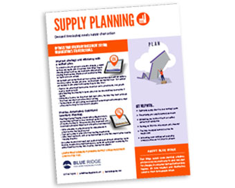 Supply Planning Solutions
