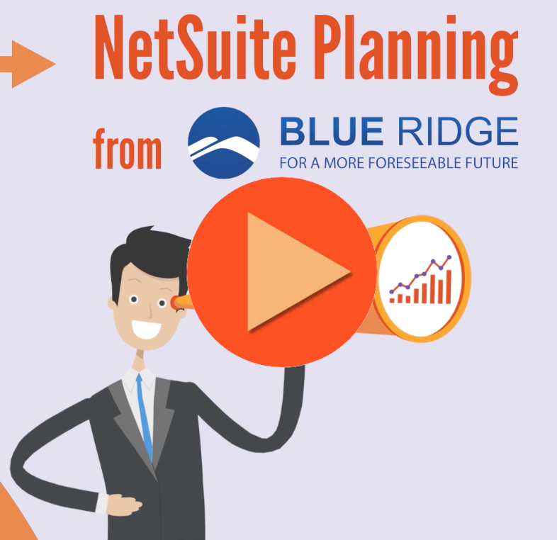 Blue Ridge Planning for NetSuite Video