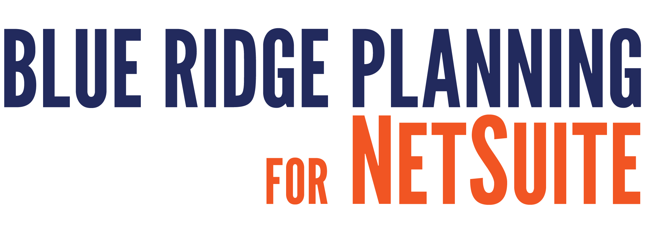 Blue Ridge Planning NetSuite