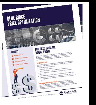 Blue Ridge Price Optimization Solution
