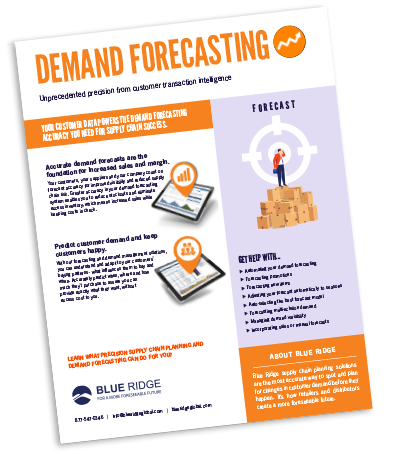 Demand Forecasting Software Solution Blue Ridge