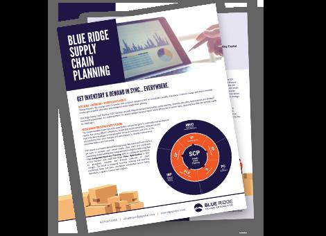 Blue Ridge Supply Chain Planning.
